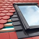 EPV Fakro 60cm x 60cm Single Flashing For Plain Tiles Up To 15mm