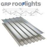 GRP Double Six Translucent Roof Sheet (Class 3 - 2.4kg/m2) - 3050mm