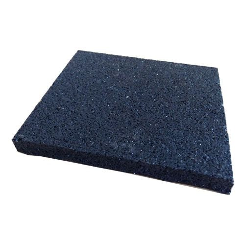 Eurodec 100mm x 100mm Rubber Base Plate for Decking Cradles - 10mm