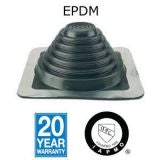 Aztec Master Flash Standard EPDM Pipe Flashing Black - 6mm to 70mm