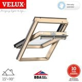 VELUX GGL FK06 3066 Pine Centre Pivot Window Triple Glazed 66 x 118cm