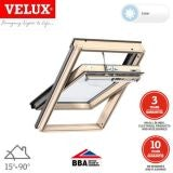 VELUX GGL UK04 306630 Pine Centre Pivot Solar INTEGRA Window 134x98cm