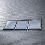VELUX EKL CK06 S0312 Triple Slate Flashing 100mm Gap - 55cm x 118cm
