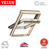 VELUX GGL CK02 3062 Pine Centre Pivot Window Triple Glazed - 55 x 78cm
