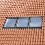 VELUX EKW PK25 0001E Triple Tile Flashing 100mm Gap - 94cm x 55cm
