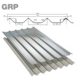 GRP Cape Fort Grey Roof Sheet (Class 3 - 2.4kg/m2) - 3050mm