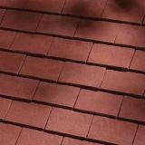 Dreadnought Classic Clay Eaves Tile - Deep Red Sandfaced