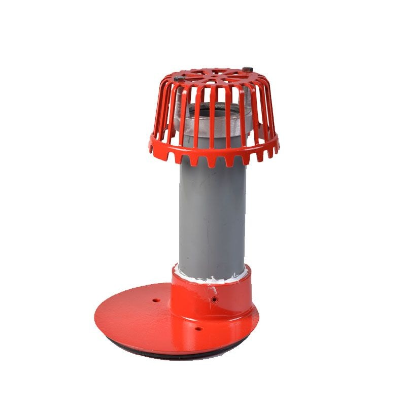 ACO Rainwater Roof Overflow Outlet with Dome Grate - 50mm