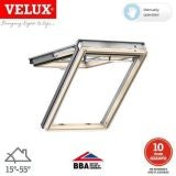 VELUX GPL FK06 3034 Pine Top Hung Window Obscure - 66cm x 118cm