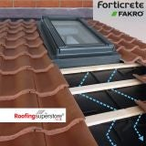 Fakro Low Pitch Roof Window System for Forticrete Centurion 55 x 98cm
