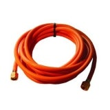 Propane Hose - 8mm Orange (20m Length) - Including Crimps