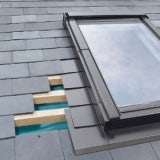 ELV/18 Fakro Single Flashing For Slate Up To 8mm Thick - 134cm x 118cm