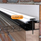 ALUKAP-XR 60mm Wall Bar White - 3m