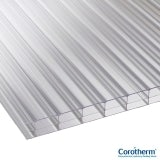 Corotherm 16mm Clear Triplewall Polycarbonate Sheet - 2500mm x 2100mm