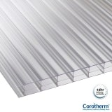 Corotherm 16mm Clear Triplewall Polycarbonate Sheet - 4000mm x 1050mm