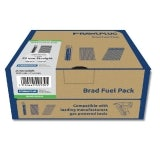 25mm x 1.6mm Stainless Steel Straight Brad Fuel Pack - Box of 2000