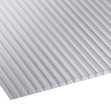 Corotherm 10mm Clear Twinwall Polycarbonate Sheet - 3000mm x 980mm