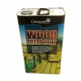 Cromar Wood Treatment in Rich Mahogany 5 Litres - Box of 4
