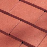 Dreadnought Premium Clay Eaves Tile - Red Smooth