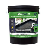 EcoProof 20 Liquid Rubber Waterproof Membrane - 20ltrs (Black)