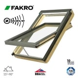 Fakro FTP-V P2/80 Z-Wave Pine Centre Pivot Window - 94cm x 160cm