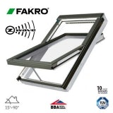 Fakro FTU-V P2/10 Z-Wave White PU Centre Pivot Window - 114cm x 118cm