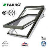 Fakro FTU-V P2/80 Z-Wave White PU Centre Pivot Window - 94cm x 160cm