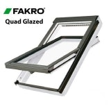 Fakro FTT/U U8/16 Thermo White PU Centre Pivot Window - 55cm x 118cm
