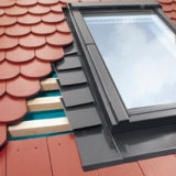 EPV/DB Fakro 94cm x 206cm Single Flashing For Plain Tiles Up To 15mm