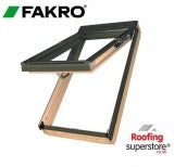 Fakro FPP-V P2/03 Pine Dual Top Hung Window Laminated - 66cm x 98cm
