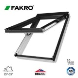 Fakro FPW-V P2/04 White Dual Top Hung Window Laminated - 66cm x 118cm