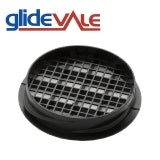 Glidevale 70mm Twist & Lock Soffit Refurb Vent in Black - Pack of 50