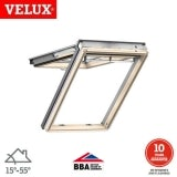 VELUX GPL FK08 3060 Pine Top Hung Window Advanced - 66cm x 140cm