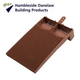 Hambleside Danelaw Flush Fit Plain Roof Tile Vent - Terracotta