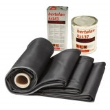 21m2 EPDM Single-Ply Rubber Roofing Kit - 4.2m x 5.0m