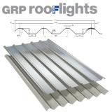 GRP Major Tile Translucent Roof Sheet (Class 1 - 2.4kg/m2) - 1830mm
