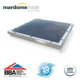 Mardome Trade Double Skin Fixed Rooflight in Clear with High Kerb - 600mm x 1050mm