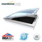 Mardome Trade Triple Skin Opening Rooflight in Opal - 1200mm x 1200mm