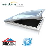 Mardome Trade Double Skin Electric Rooflight in Opal - 600mm x 600mm