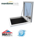Mardome Trade Double Skin Access Hatch in Clear - 900mm x 1200mm