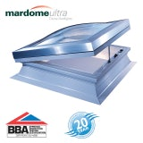 Mardome Ultra Double Skin Electric Rooflight in Bronze - 600mm x 600mm