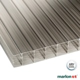Marlon 25mm Bronze Sevenwall Polycarbonate Sheet - 2500mm x 700mm