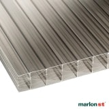 Marlon 25mm Bronze Opal Sevenwall Polycarbonate Sheet 2500mm x 1050mm