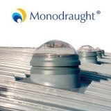Monodraught Suncatcher ABS 550mm dia with 300mm Sunpipe, 1.5m Long