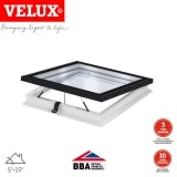 VELUX Electric Flat Glass Rooflight Clear for Flat Roof - 900 x 1200mm