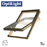 OptiLight Centre Pivot Roof Window - 66cm x 118cm