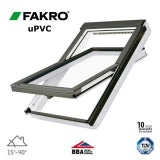 Fakro PTP-V P2/01 uPVC Centre Pivot Window Laminated - 55cm x 78cm