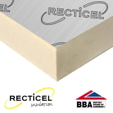 50mm Recticel Eurothane GP Rigid Insulation Board - 2.4m x 1.2m