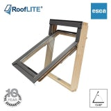 RoofLITE ESCA Top Hung Pine Escape Roof Window - 78cm x 140cm