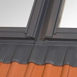 RoofLITE 78cm x 98cm 2x Flashings Side by Side for Slates and Tiles